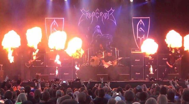 Emperor: confira vídeos do show no Sweden Rock Festival