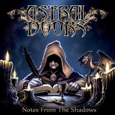 """Capa de """"Notes from the Shadows"""", novo disco do Astral Doors"""