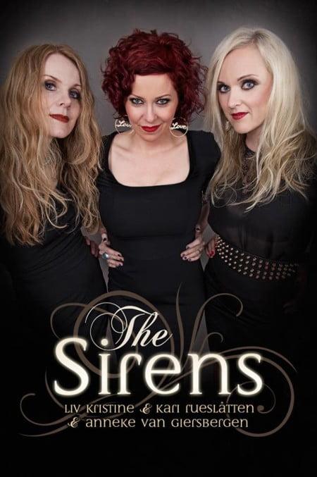 A turnê The Sirens reunirá Kari Rueslåtten, Anneke van Giersbergen e Liv Kristine