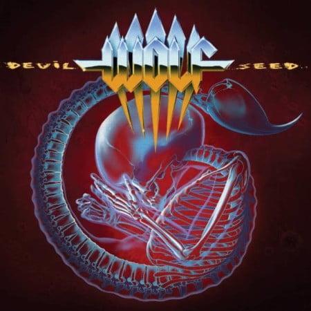 """Capa de """"Devil Seed"""", o novo disco do Wolf"""