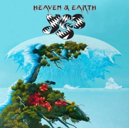 """Capa de """"Heaven & Earth"""", o novo disco do Yes"""