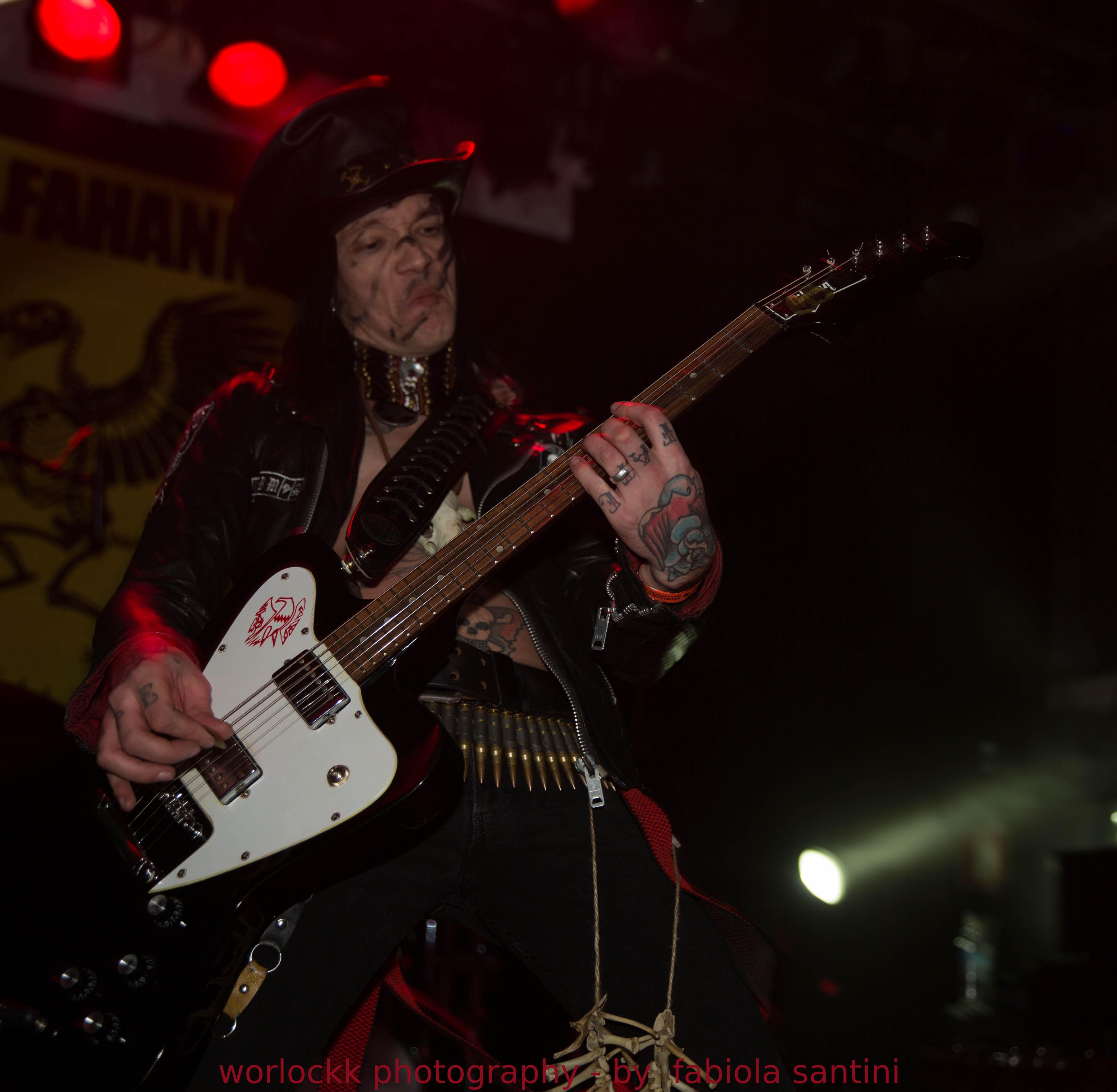 Alfahanne no Inferno Metal Festival 2014 (foto: Fabiola Santini)