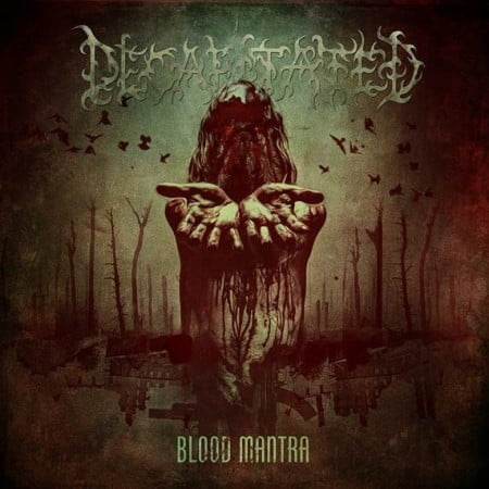 "Capa de ""Blood Mantra"", novo disco do Decapitated"