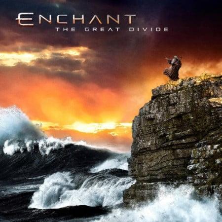 """Capa de """"The Great Divide"""", primeiro álbum do Enchant em dez anos"""
