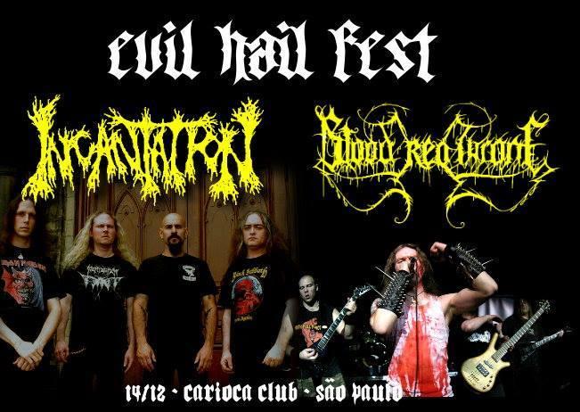 Evil Hail Fest: confirmado grande festival de metal extremo em São Paulo