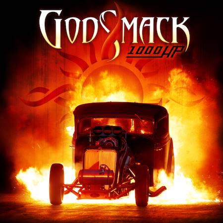 """Capa de """"1000hp"""", o novo  álbum do Godsmack"""