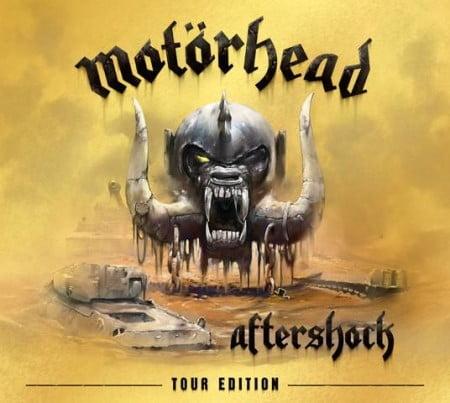 """Capa de """"Aftershock Tour Edition"""", relacionamento do mais recente disco do Motörhead"""
