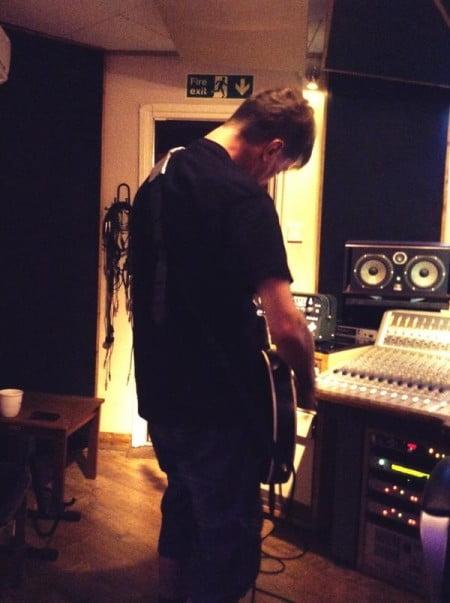 Napalm Death começa a registrar as partes de guitarra para novo CD