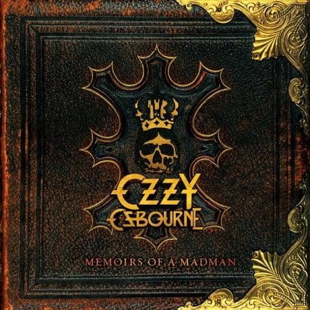 """Capa de """"Memoirs of a Madman"""", coletânea da carreira solo de Ozzy Osbourne"""