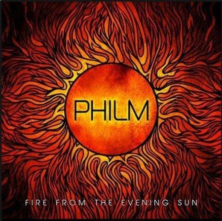 "Capa de ""Fire From the Evening Sun"", novo álbum do Philm"