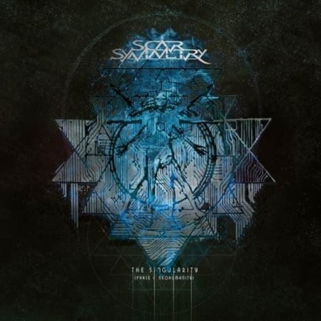 "Capa de ""The Singularity (Phase 1 - Neohumanity)"", novo álbum do Scar Symmetry"