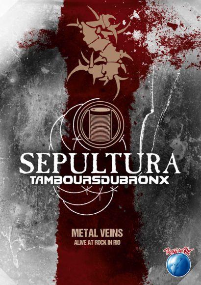 Capa do novo DVD ao vivo (e primeiro Blu-ray) do Sepultura