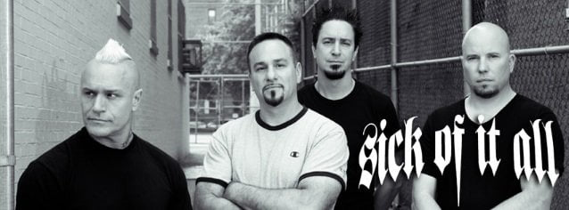 "Sick of It All: ouça a inédita, ""Road Less Traveled"""
