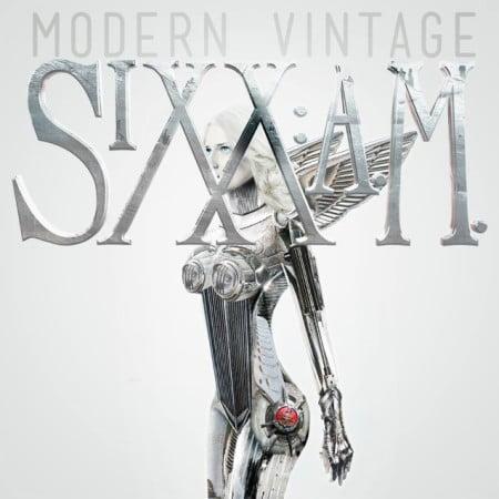 "Capa de ""Modern Vintage"", novo álbum do Sixx A.M."