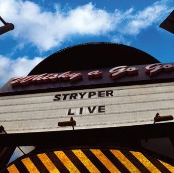 "Capa de ""Live at the Whisky"" , novo CD/DVD ao vivo do Stryper"