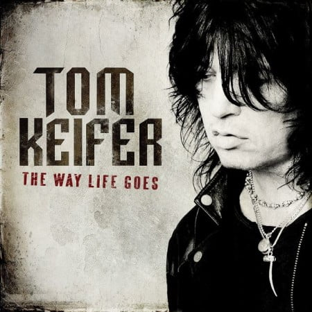 "Capa de ""The Way Life Goes"", o primeiro disco solo de Tom Keifer (Cinderella)"