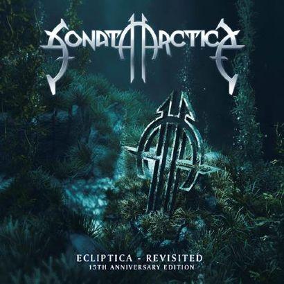 """Capa da nova versão de """"Ecliptica"""", o álbum de estreia do Sonata Arctica"""