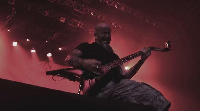 "Anthrax: trailer para ""Chile on Hell"", novo DVD do grupo"