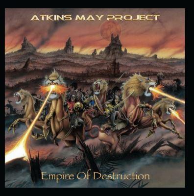 """Capa de """"Empire of Destruction"""", o novo álbum do Atkins May Project"""