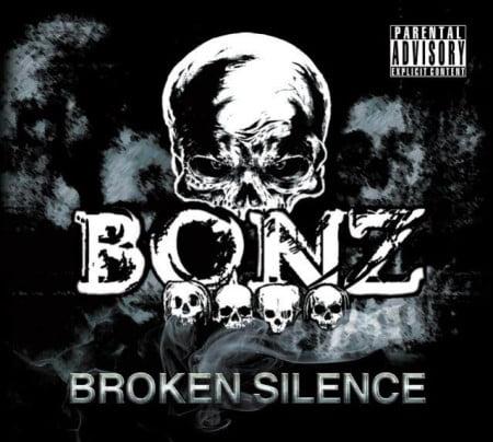 """Capa de """"Broken Silence"""", o álbum de estreia do Bonz"""
