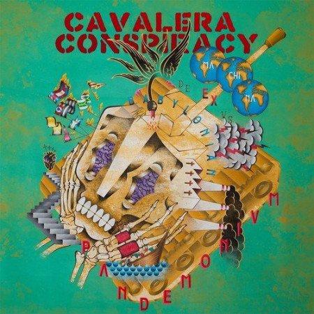 """Capa de """"Pandemonium"""", o novo disco do Cavalera Conspiracy"""