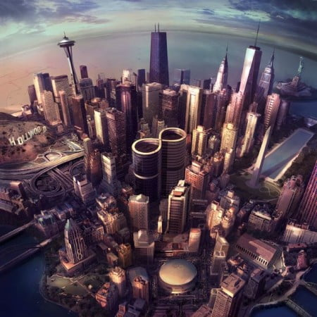 "Capa de ""Sonic Highways"", o novo álbum do Foo Fighters"