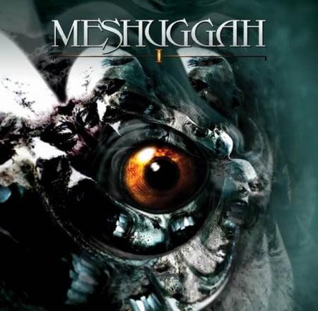 """Capa do relançamento de """"I"""", EP do Meshuggah"""
