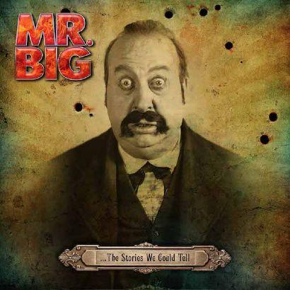"""Capa de """"...The Stories We Could Tell"""", o novo álbum do Mr. Big"""