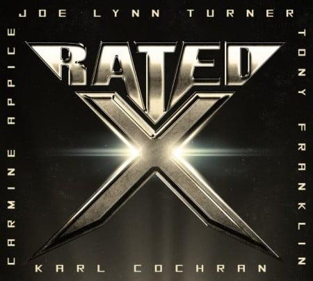 Capa do autointitulado álbum de estreia do Rated X