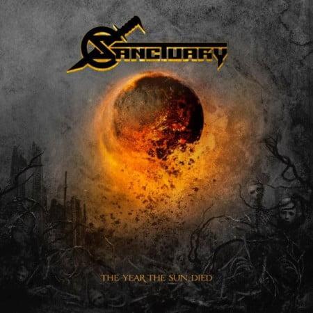 "Capa de ""The Year the Sun Died"", álbum que marca a volta do Sanctuary"