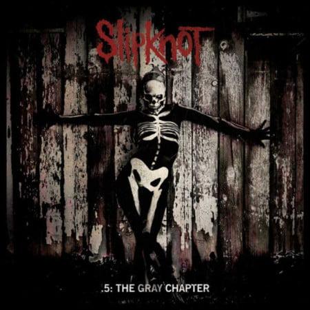 "Capa de "".5: The Gray Chapter"", o novo CD do Slipknot"