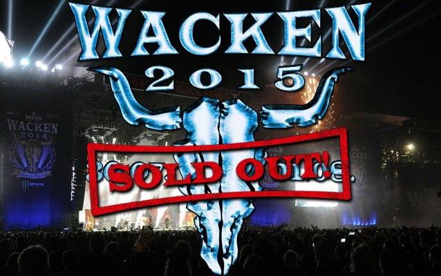 Wacken Open Air 2015: sold out pela décima vez consecutiva