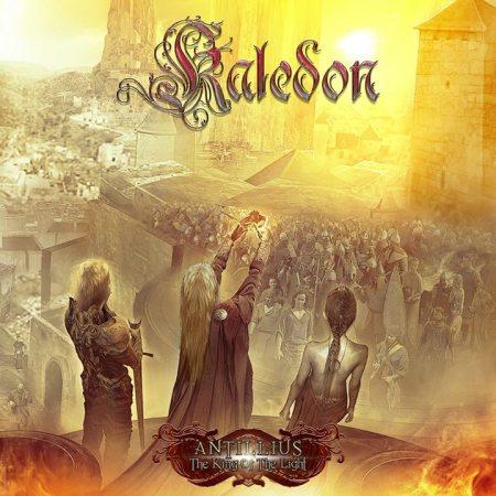 """Capa de """"Antillius: The King of the Light"""", novo CD do Kaledon"""