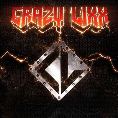 Capa do novo (e autointitulado) disco do Crazy Lixx