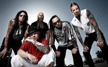 Five Finger Death Punch: quatro músicas já gravadas para o novo álbum