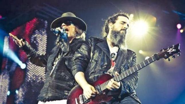 "Guns n' Roses: clipe ao vivo para ""Chinese Democracy"", extraído do novo DVD/Blu-ray"
