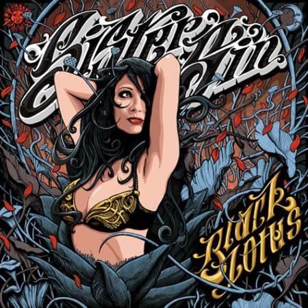 """Capa de """"Black Lotus"""", o novo disco do Sister Sin"""