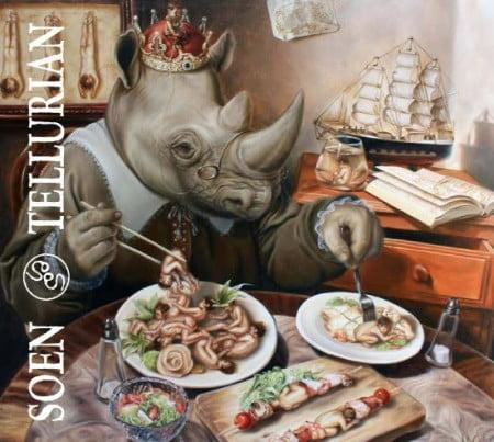 """Capa de """"Tellurian"""", o novo álbum do Soen"""