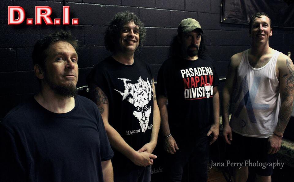 D.R.I.: pela primeira vez em Londrina/PR