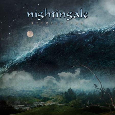 """Capa de """"Retribution"""", o novo disco do Nightgale"""