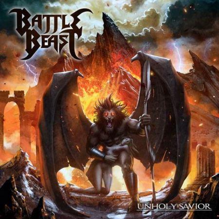 """Capa de """"Unholy Savior"""", novo álbum do Battle Beast"""