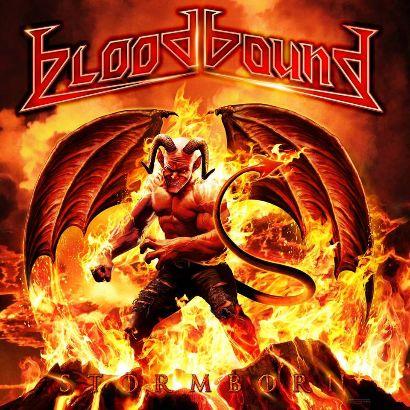 """Capa de """"Stormbound"""", o novo disco do Bloodbound"""