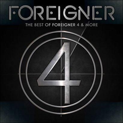 """Capa de """"The Best of Foreigner 4 & More"""", novo disco ao vivo do Foreigner"""