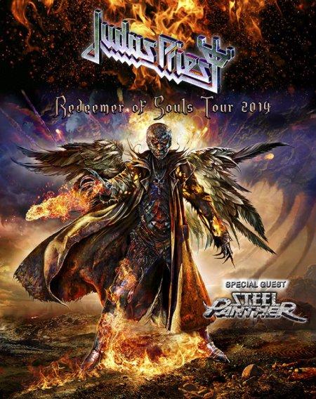 Pôster da atual turnê do Judas Priest
