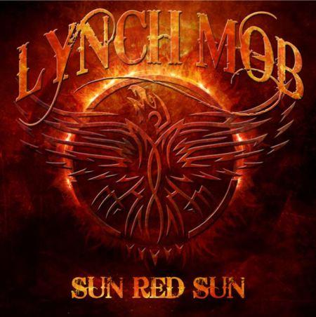 """Capa de """"Sun Red Sun"""", novo disco do Lynch Mob"""