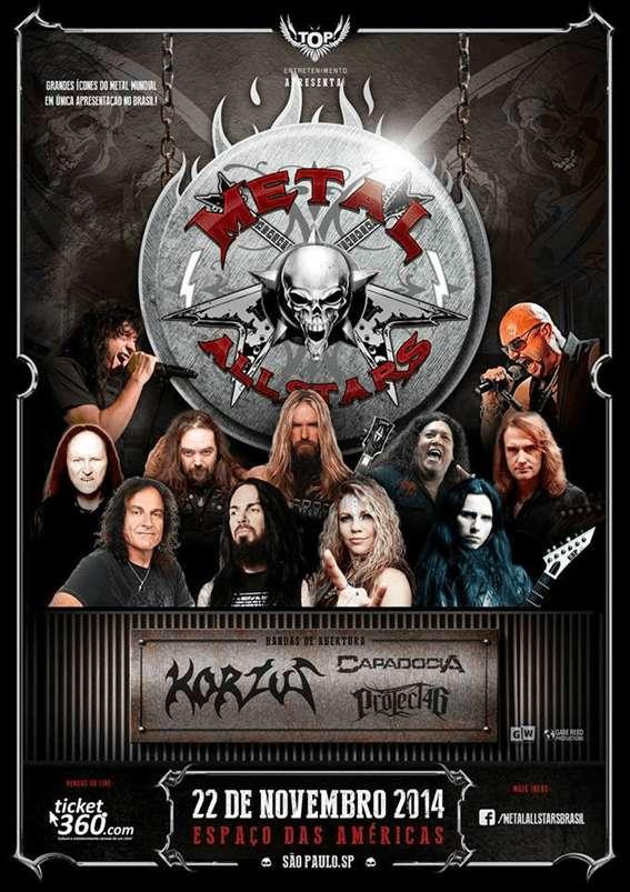 Metal Allstars: confira as informações completas sobre o evento