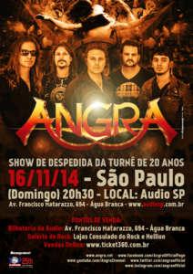 Angra-Cartaz SP 2014