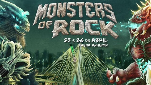 Monsters 2015: vai ter Ozzy Osbourne, Kiss e Judas Priest