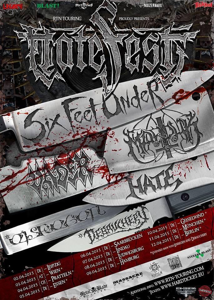 Hatefest Tour 2015: invadindo a Alemanha e a Áustria