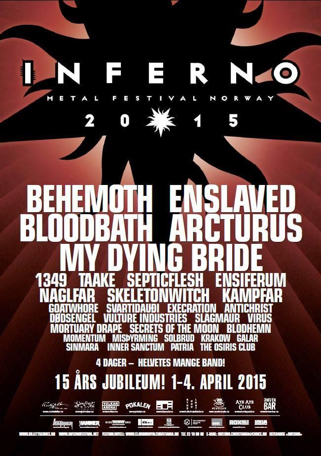 Inferno Metal Festival: banda brasileira Patria é anunciada no evento